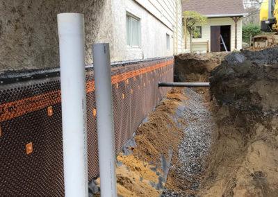 Installation et réparation de drain français à St-Gabriel - Imperméabilisation LL à Joliette